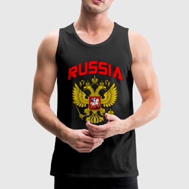 Russia Crest - Men's Premium Tank Top