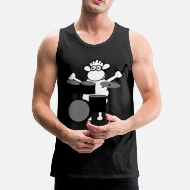 Rock music - Premium singlet for menn