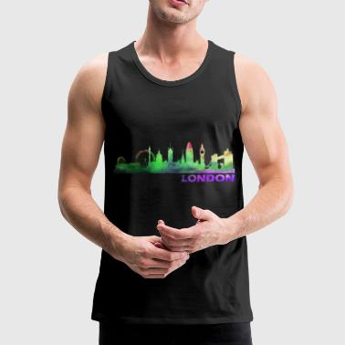 London - Herre Premium tanktop