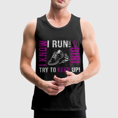 Run Girl - Men's Premium Tank Top