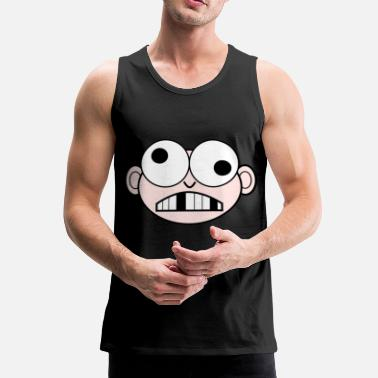 Comic Comic-head - Tank top męski Premium