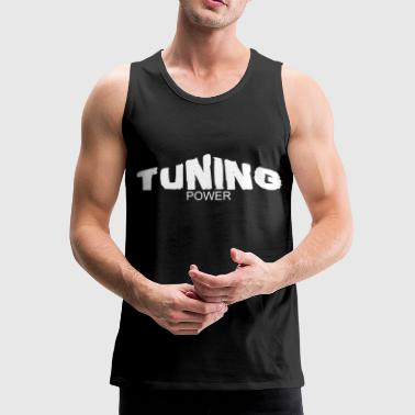 tuning power - Tank top premium hombre