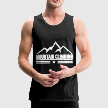 Mountain climbing Mountain climbing - Men's Premium Tank Top