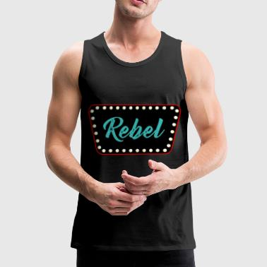 Rockabilly - Tank top męski Premium