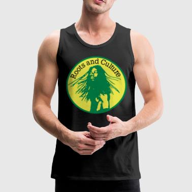 roots and culture - Mannen Premium tank top