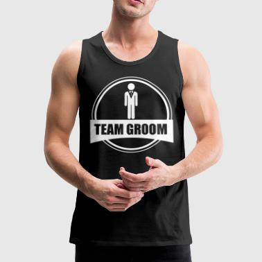 TEAM GROOM - Stag do - Men's Premium Tank Top