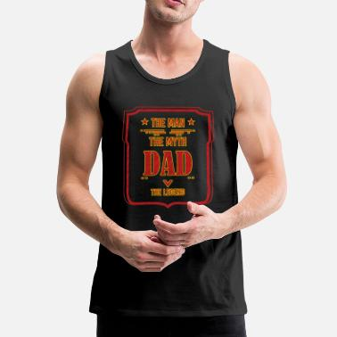 Fathers Day Father's Day Father's Day gift - Men's Premium Tank Top