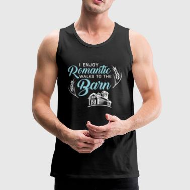 Romantic Barn - Men's Premium Tank Top