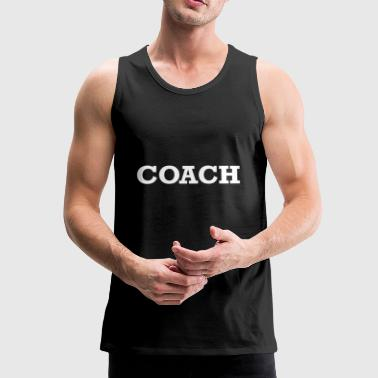 COACH - Premium singlet for menn