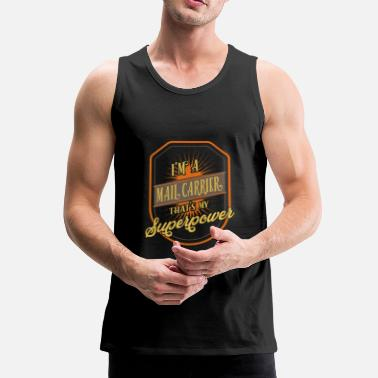 Mail Mail carrier - Men's Premium Tank Top