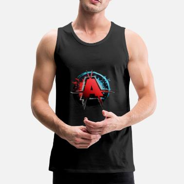 Anarchie anarchie - Mannen Premium tank top