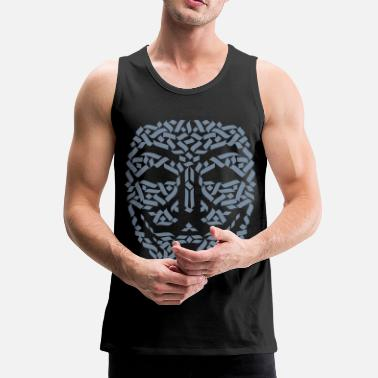 Anonymous Anonymous Hacker - Männer Premium Tank Top