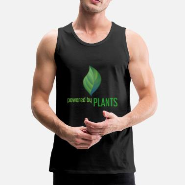 Power Powered by Plants - Men's Premium Tank Top