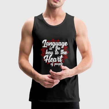 The language - Men's Premium Tank Top
