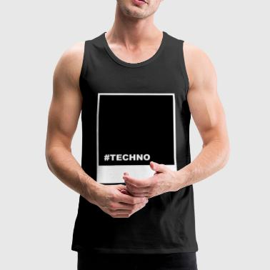 TECHNO Techno - Premium singlet for menn