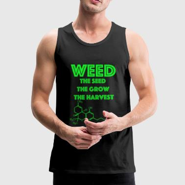 Weed The Seed - Men's Premium Tank Top