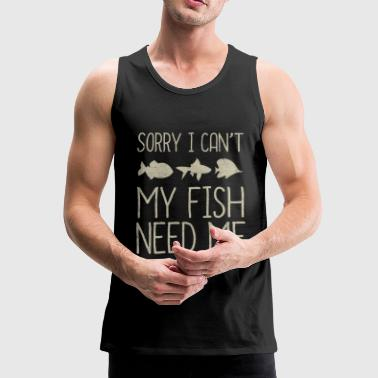 aquarium - Mannen Premium tank top