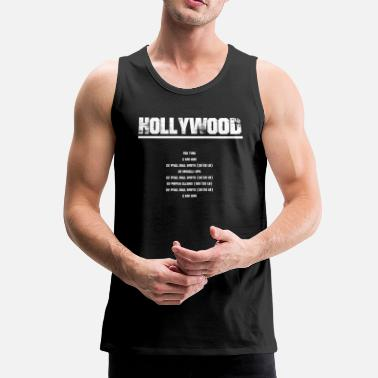 Hollywood Hollywood - Canotta premium da uomo
