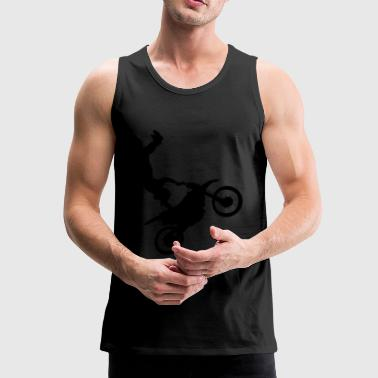Motocross stunt driver - Men's Premium Tank Top