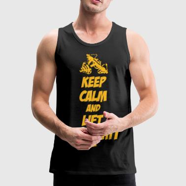 Keep Calm and Lift that Shit - Men's Premium Tank Top