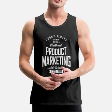 Production Year Gift for Product Marketing - Men's Premium Tank Top