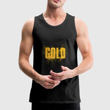 Gold gold - Men's Premium Tank Top
