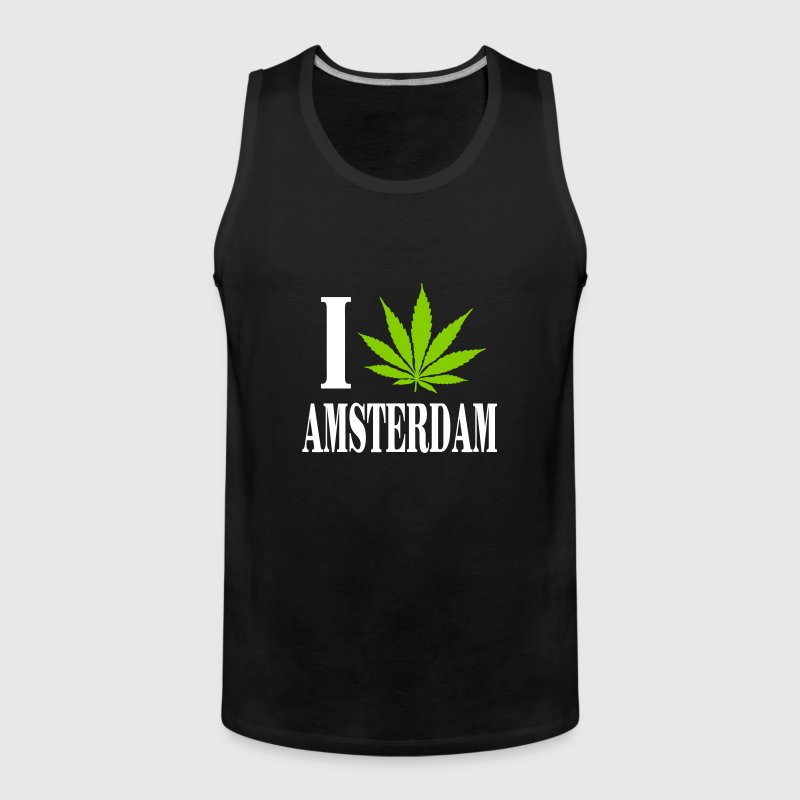 I love amsterdam - Men's Premium Tank Top