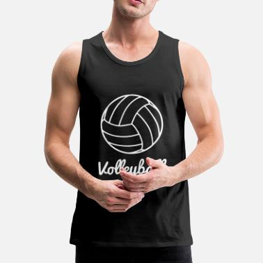 Volley Volleyball Volley ball - Premium tank top męski
