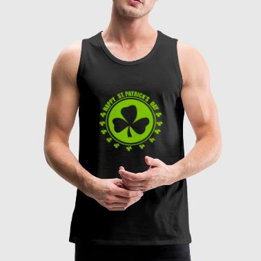 Happy st.patricks day - Men's Premium Tank Top