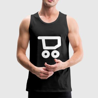 Shopping Shopping Cart Shopping Cart Shopping - Men's Premium Tank Top