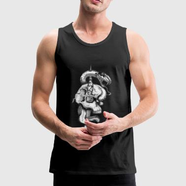 Snake and Skull - Men's Premium Tank Top