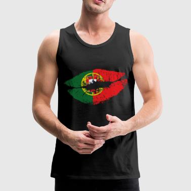 Mouth Portugal - Männer Premium Tank Top