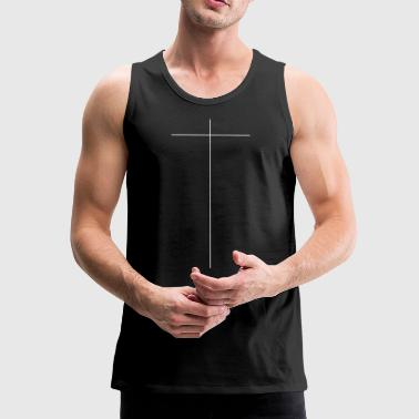 cross - Men's Premium Tank Top