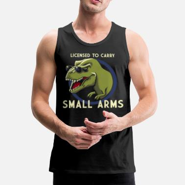 Licensed to Carry small arms - Männer Premium Tank Top