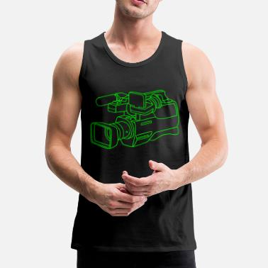 Video Video Kamera - Men's Premium Tank Top
