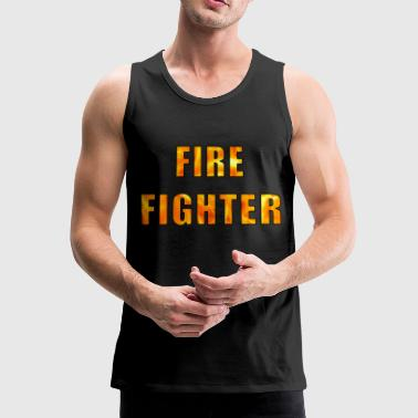 Fire Fighter Fire Fighter - Men's Premium Tank Top
