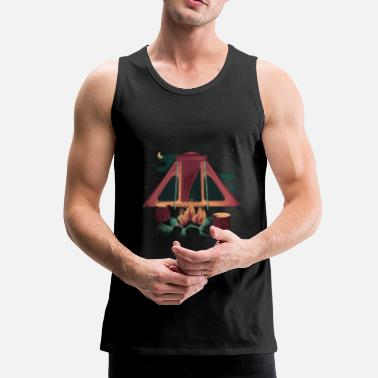 Camping Shirt - Men's Premium Tank Top