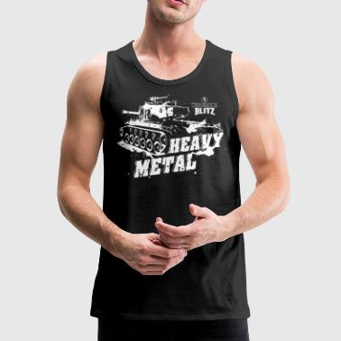 Metal World of Tanks - Blitz, Heavy Metal - Tank top męski Premium