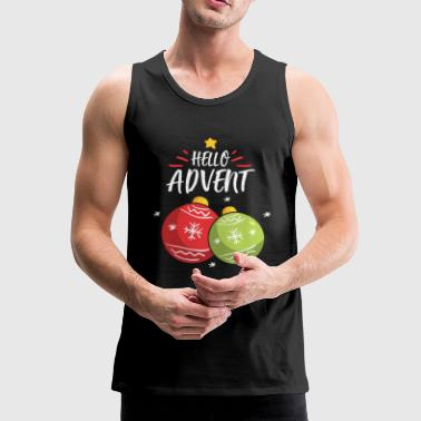 Advent - Männer Premium Tank Top