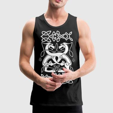 Celtic Lions - Celtic Lions - Men's Premium Tank Top