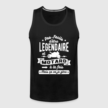 Legendary and biker - Men's Premium Tank Top