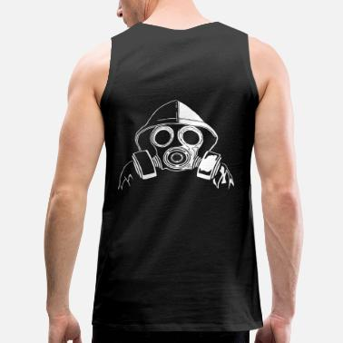 Gas Mask gas mask - Men's Premium Tank Top