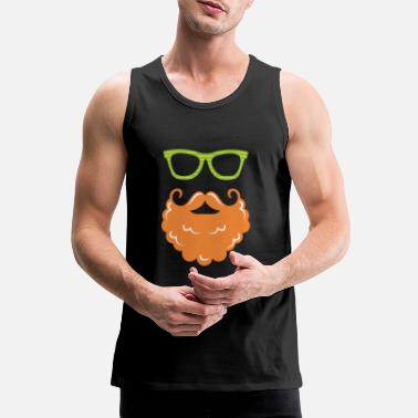 Beard St Patrick's Day Beard - Men's Premium Tank Top