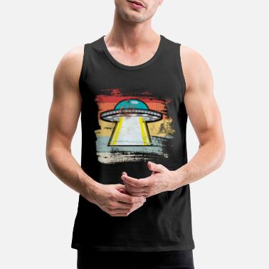 Outerspace Retro Outerspace - Men's Premium Tank Top