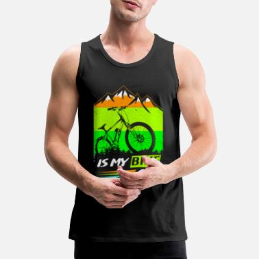 bicycle - Men's Premium Tank Top