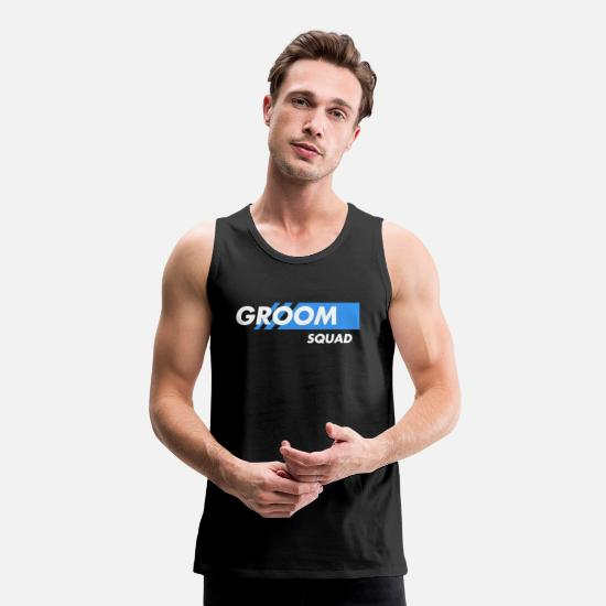 Bride Tank Tops - jga t shirts men - Men's Premium Tank Top black