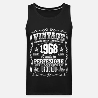 Vintage 1968 Regalo 50 Compleanno 50 Anni Maglietta Uomo Spreadshirt