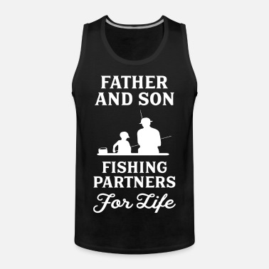 fc8ca9ea Father And Son Fishing Partners For Life Men's T-Shirt | Spreadshirt