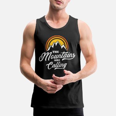 Wand Mountains Are Calling - Männer Premium Tanktop