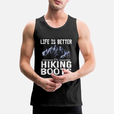 Bozen Hiking shirt mountains, hiking, climbing, hiking - Men's Premium Tank Top